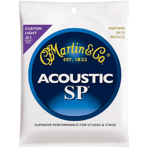 MARTIN MSP3050 SP - SNAREN 011-052 BRONZE WOUND
