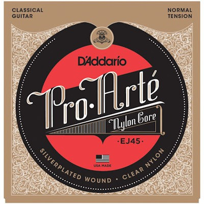 D'ADDARIO EJ45 CLASSIC - SNAREN NYLON NORMAL TENSION