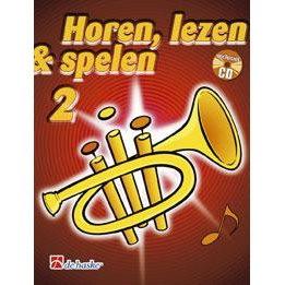 HOREN, LEZEN & SPELEN - TROMPET METHODE DEEL 2 + CD