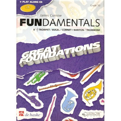CURNOW, JAMES + CD - FUNDAMENTALS TROMPET/BUGEL/CORNET