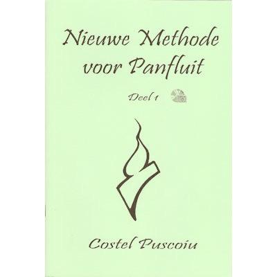 PUSCOIU, COSTEL - NIEUWE METHODE VOOR PANFLUIT 1 + CD