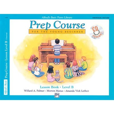 ALFRED'S BASIC PIANO LIBRARY - PREP COURSE B LESSON BOOK + CD