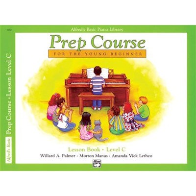 ALFRED'S BASIC PIANO LIBRARY - PREP COURSE C LESSON BOOK