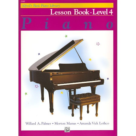 ALFRED'S BASIC PIANO LIBRARY - LESSON BOOK 4