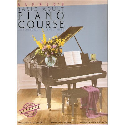ALFRED'S BASIC PIANO LIBRARY - VOLWASSEN (ADULT) BEGINNER 3 ENG