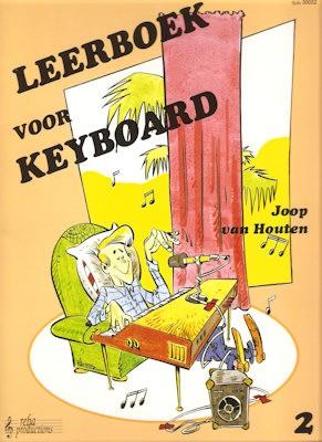 HOUTEN, JOOP VAN - LEERBOEK 2 VOOR KEYBOARD