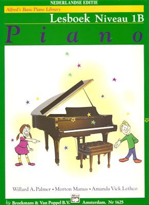 ALFRED'S BASIC PIANO LIBRARY - LESBOEK 1B NL