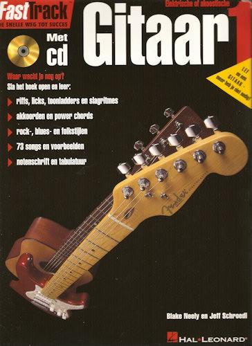 BLADMUZIEK + CD - FASTTRACK GITAAR 1