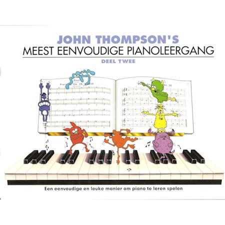 THOMPSON, JOHN 2 - MEEST EENVOUDIGE PIANOLEERGANG 2