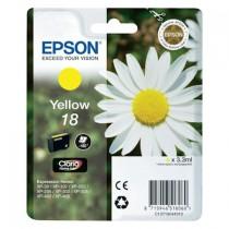 EPSON 18 YELLOW C13T18044010 - INKTCARTRIDGE GEEL