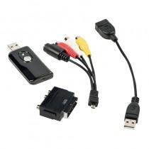 KONIG CSUSBVG100 VIDEO GRABBER - USB 2.0 - AUDIO / VIDEO OMZETTER
