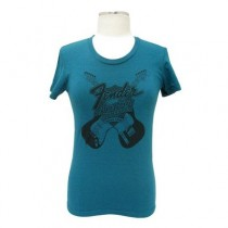 FENDER TEE LADIES 919-0046-545 - T-SHIRT INNOVATION EVERGREEN L