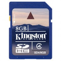 KINGSTON SD4/8GB - SDHC MEMORY 8GB