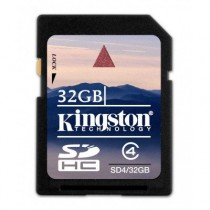 KINGSTON SD4/32GB - SDHC MEMORY 32GB