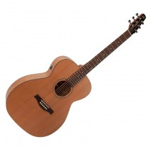 SEAGULL S6 THE ORIGINAL CONCERT HALL Q-I SOLID CEDAR TOP - GITAAR WESTERN 46MM NUT + EQ