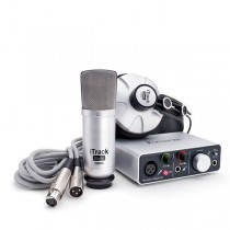 FOCUSRITE ITRACK STUDIO LIGHTNING + STUDIO MIC + KOPTELEFOON - AUDIO INTERFACE USB 2IN/2UIT 1X XLR