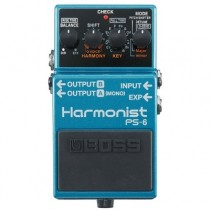 BOSS PS-6 - GITAAREFFECT HARMONIST PITCH SHIFT