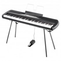 KORG SP-280 BK - PIANO STAGE 88T + STAND + PEDAAL