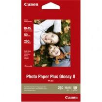 CANON PP-201 PHOTO PAPER PLUS 2311B003 - PAPIER GLOSSY 10X15 260 GR 50VEL