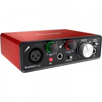 FOCUSRITE SCARLETT SOLO GENERATION 2 - AUDIO INTERFACE USB 2 IN / 2 OUT