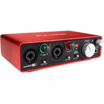 FOCUSRITE SCARLETT 2I2 GENERATION 2 - AUDIO INTERFACE USB 2XLR IN / 2 OUT