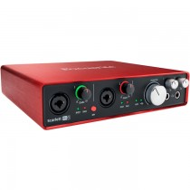 FOCUSRITE SCARLETT 6I6 GENERATION 2 - AUDIO / MIDI INTERFACE USB 6IN/6OUT
