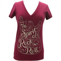 FENDER TEE LADIES 912-0003-493 - T-SHIRT SPIRIT ROSE M