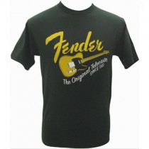 FENDER TEE 911-1001-346 - T-SHIRT ORIGINAL TELECASTER GREEN S