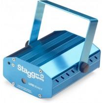 STAGG SLR LITE 6-2 BL EU GRID STARS / 3R RGY - LASER EFFECT 30MW GROEN 80MW ROOD
