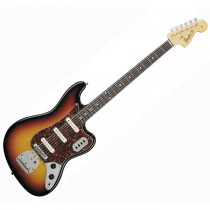 FENDER JAGUAR BASS 6-STRING LTD EDITION JAPAN 025-0021-500 - BASGITAAR VI 3 TONE SUNBURST