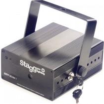 STAGG SLR CITY 1-2 BK EU FIREFLY / 3R RGY - LASER EFFECT 40MW GROEN 100MW ROOD