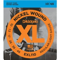 D'ADDARIO EXL110 - SNAREN 010-046 NICKELWOUND