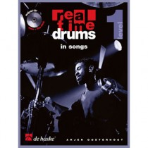 OOSTERHOUT, ARJEN + CD - REAL TIME DRUMS IN SONGS