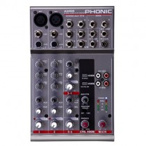 PHONIC AM 85 - MIXER 2 MIC / 2 LINE STEREO