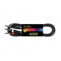 Boston BSG-210-6 audio jack y-kabel van 6 meter lengte.