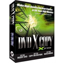 CD-ROM SYSTEEM SOFTWARE - DVD X COPY XPRESS