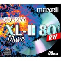 MAXELL MAX-CDRW80MU PER/STUK