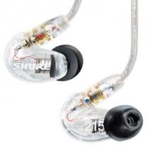 SHURE SE215-CL TRANSPARANT - HOOFDTELEFOON IN-EAR GESLOTEN