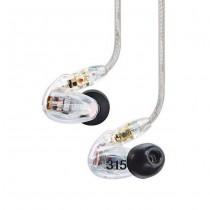 SHURE SE315-CL TRANSPARANT - HOOFDTELEFOON IN-EAR GESLOTEN
