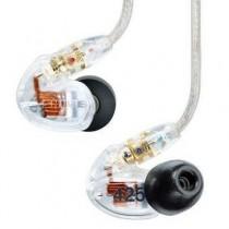 SHURE SE425-CL TRANSPARANT - HOOFDTELEFOON IN-EAR DUAL DRIVER