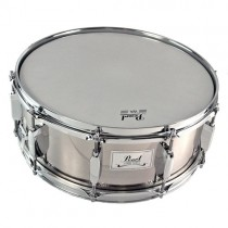 "PEARL SK-614H HAIRLINE NICKEL FINISH - SNARE DRUM 14X5"" METAAL"