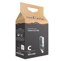WECARE 4280 - INKTCARTRIDGE CANON CLI-526 BLACK