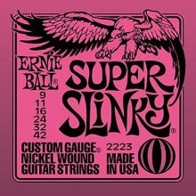 ERNIE BALL 2223 SUPER SLINKY - SNAREN 009-042 NICKELWOUND