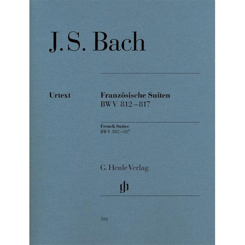BACH, J.S. - FRENCH SUITES BWV 812-817 - bladmuziek