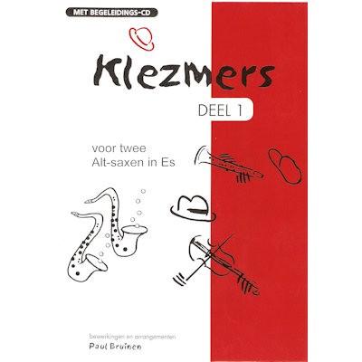 BRUINEN, PAUL - KLEZMERS 1 VOOR 2 ALTSAXEN + CD