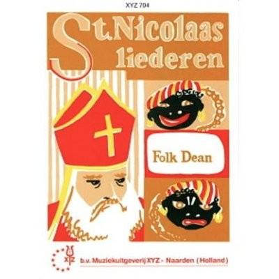 DEAN, FOLK - ST. NICOLAAS LIEDEREN - bladmuziek