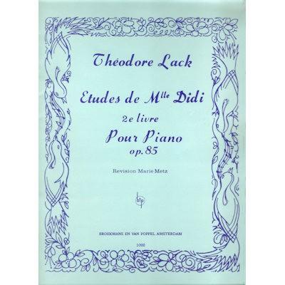LACK, THEODORE - ETUDES MLLE DIDI 2 OP.85 PIANO