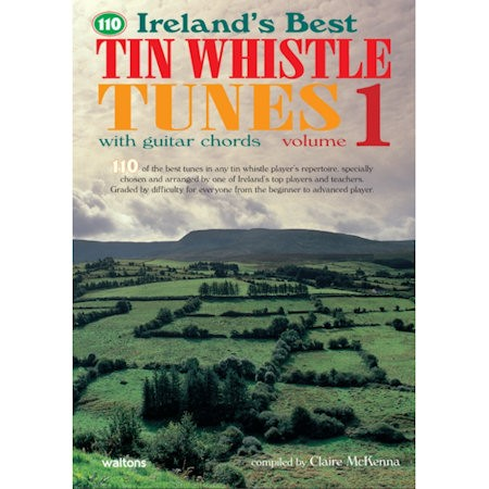 MCKENNA, CLAIRE - 110 BEST TIN WHISTLE TUNES VOLUME 1 - bladmuziek