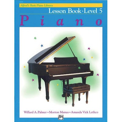 ALFRED'S BASIC PIANO LIBRARY - LESSON BOOK 5