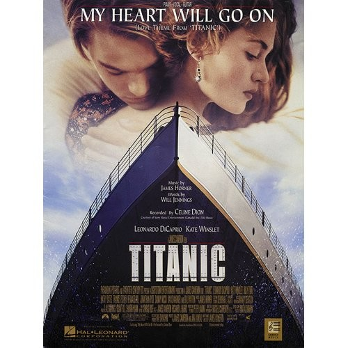 DION, CELINE - MY HEART WILL GO ON (TITANIC) - bladmuziek